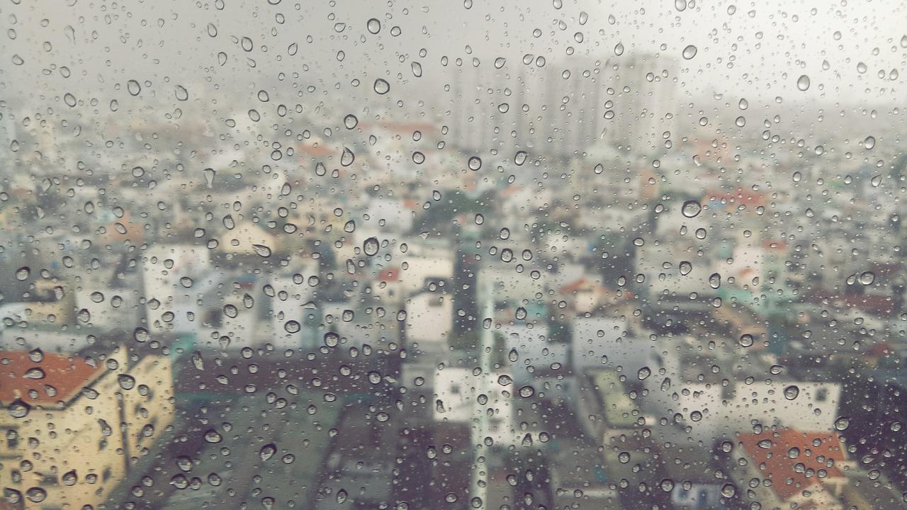chuva fraca