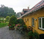 chuva e granizo