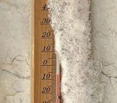 termómetro frio