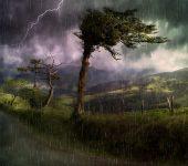 chuva e trovoada