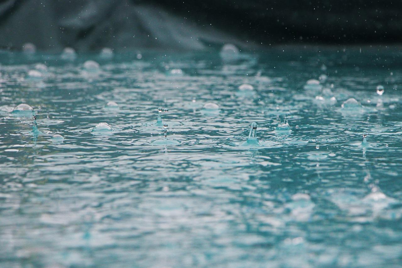 gotas de chuva