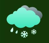 chuva e neve